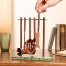 Luxury Copper And Marble Barware Tool Set