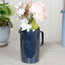 Dark Blue Faded Effect Pitcher Jug