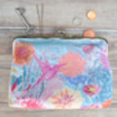 Faye Silk Clutch Bag