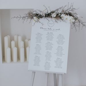 Anna Table Plan - table plans