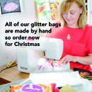 Personalised Glitter Bag Christmas Gift