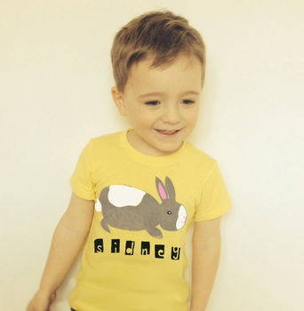 Personalised Baby Easter T Shirt