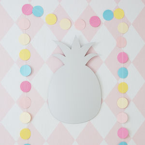 Pineapple Shaped Childrens Mirror - baby & child sale