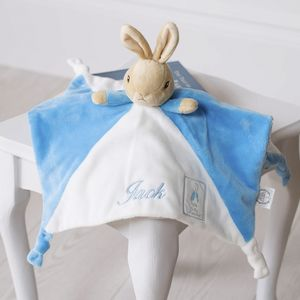 Personalised Peter Rabbit Baby Comfort Blanket - gifts for babies