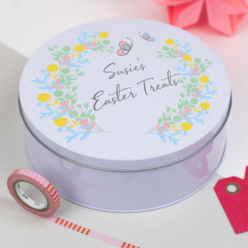 Personalised Easter Treat Tin