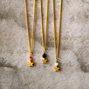 Children's Star Charm Necklace - children's jewellery