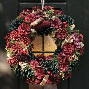 Country Charm Luxury Christmas Wreath
