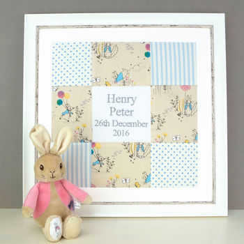Peter Rabbit Name And Date Picture