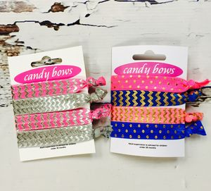 Tweens Candy Pop Hair Ties