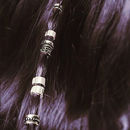 Boho Hair Bead Clickers In Silver Or Gold
