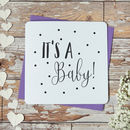 'It's A Baby' Funny New Baby Card