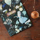 beautiful illustrated artists notebook with high quality drawing paper inside