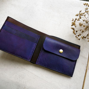 Choose Your Own Colours Leather Dual Colour Wallet