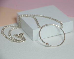 Circle Necklace - necklaces & pendants