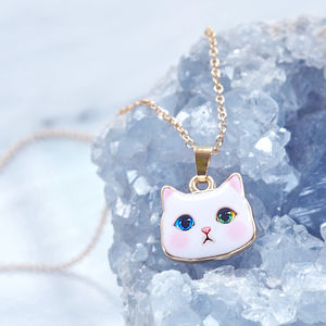 Cute Cat Necklace - necklaces & pendants
