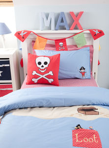 Pirate Skull and Crossbones Cushion - view all sale items