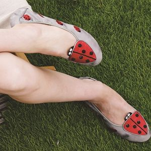 Islington Ladybird Foldable Shoes - shoes