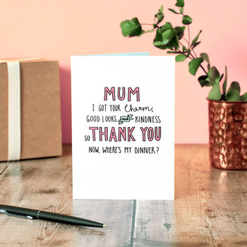 A Mother's Work Is Never Done Mother's Day Card