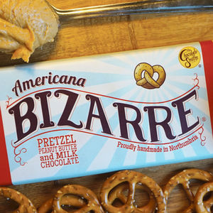 Americana Pretzel Milk Chocolate Bizarre Bar - chocolates