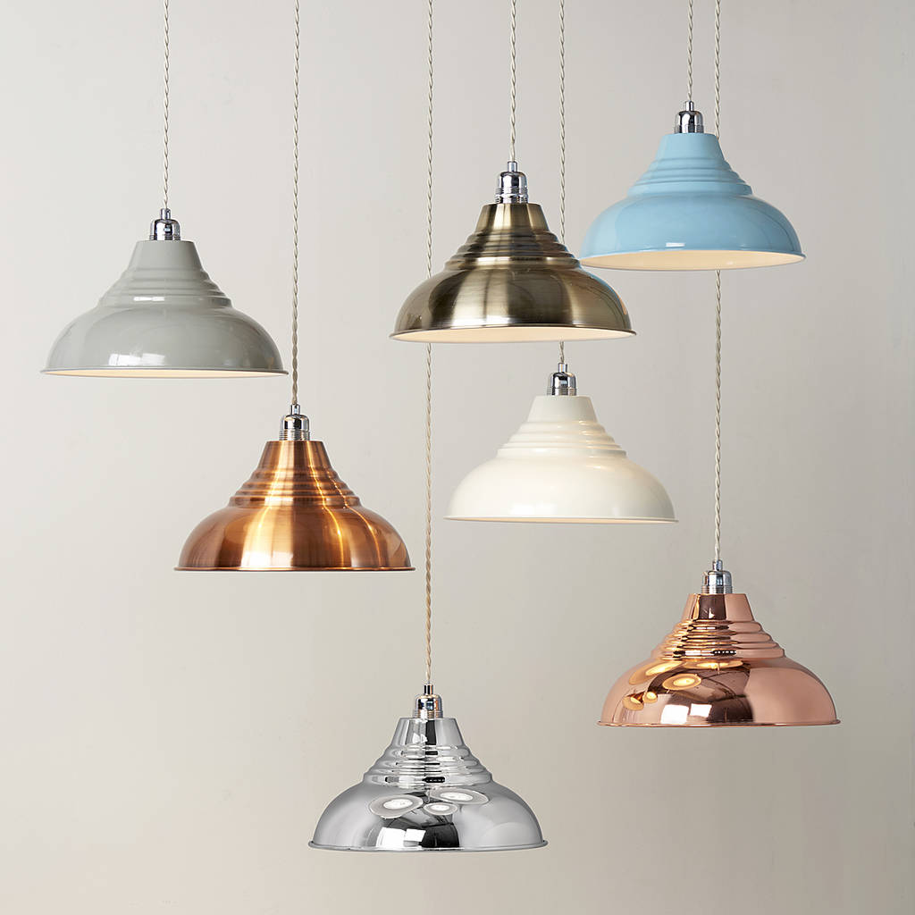 Lights with Lampshades From Jiggers