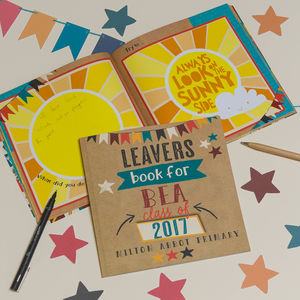 Personalised Primary School Leavers Book - new in baby & child