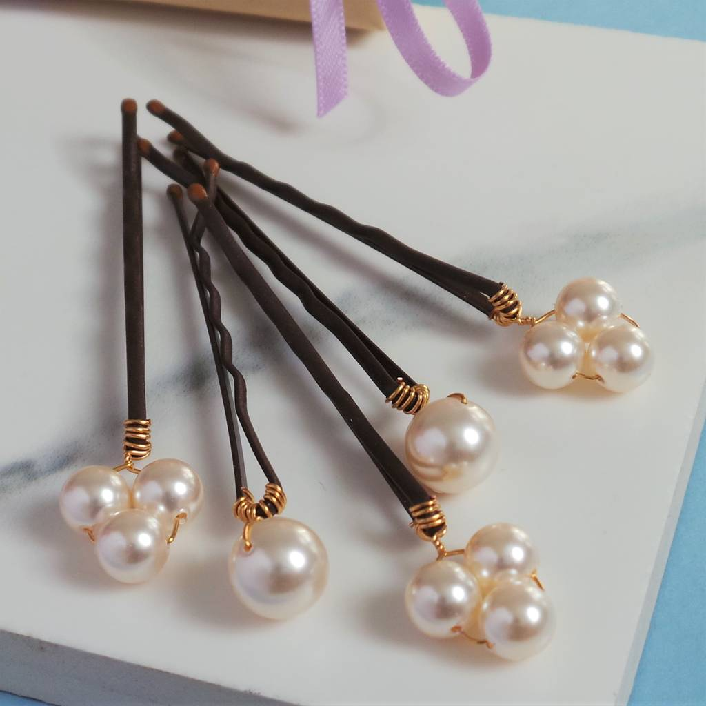 8ce43b002 bliss pearl bridal hair pins by jewellery made by me ...