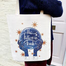The Future Is Female Linen Tote Bag