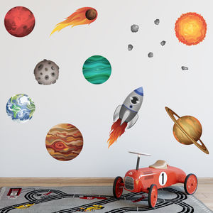 Solar System Wall Stickers   Childrenu0027s Room Part 88