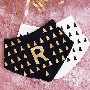 Personalised Christmas Baby Bandana Bib - gifts for babies & children