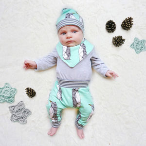 Penguins Baby Set - clothing