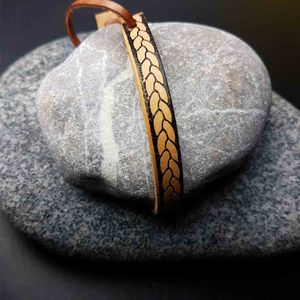 Handmade Braided Leather Bracelet