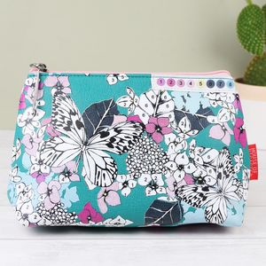 'Colour Me' Butterfly Make Up Bag
