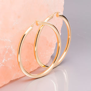 Super Hoops In Gold And Silver