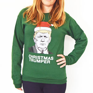 Donald Trump Unisex Christmas Jumper - christmas jumpers