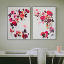 Deep Red Roses Prints