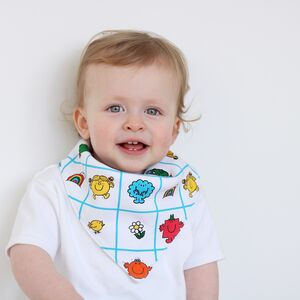 Mr Men Little Miss Dribble Bib