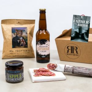 Father Of The Bride Gift Box - wines, beers & spirits