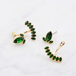 Statement Sakura Ear Jacket - earrings