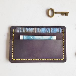 Leather Card Holder - wallets