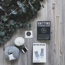 Mother's Day Gift Knitting Kit With Handmade Biscuits