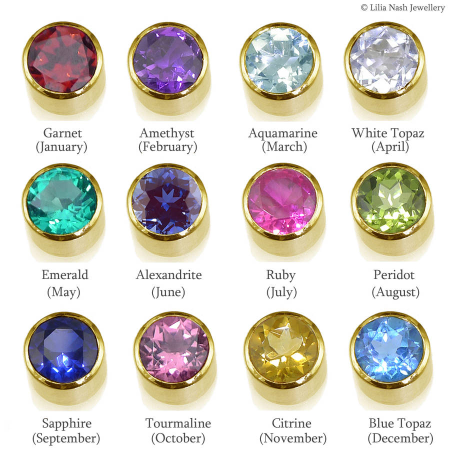 product earrings birthstone december