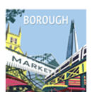 Borough Market Giclee Print