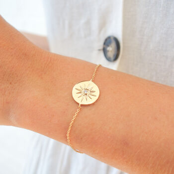 Personalised Guiding Star Bracelet