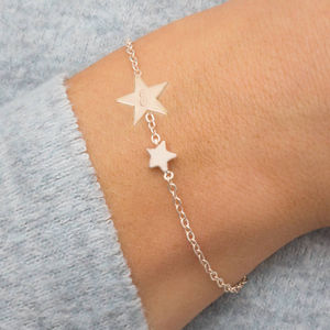 Evie Personalised Star Bracelet
