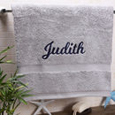 Personalised Boutique Luxury Bath Sheet