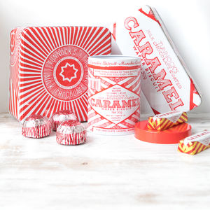 Set Of Three Tunnock's Biscuit Kitchen Storage Tins