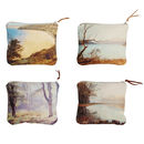 Linen Purses, English Romantic Collection