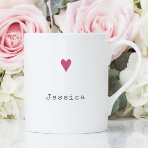 Personalised China Mug - cups & saucers