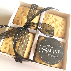 Handmade Shortbread Thank You Biscuits - thank you gifts