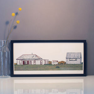 Dungeness Print - drawings & illustrations